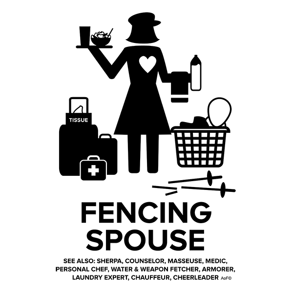 fencing spouse female