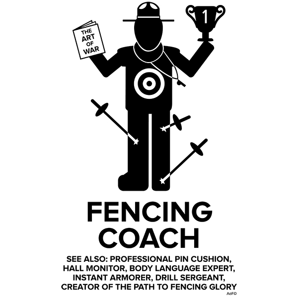 Male Fencing Coach