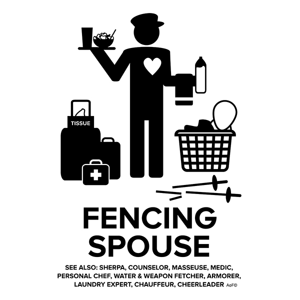 fencing spouse male