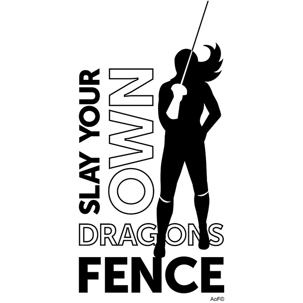Slay Your own Dragons Epee