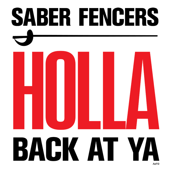 saber fencers holla