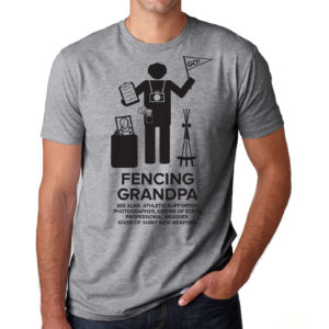Fencing-Grandpa-HGray-tshirt