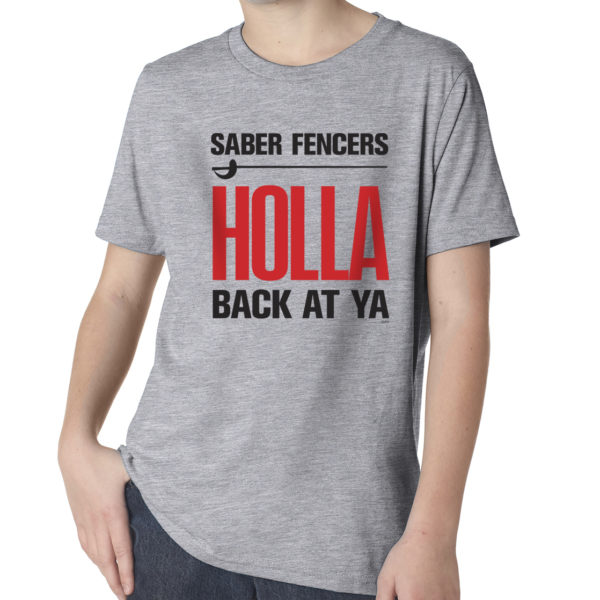 Saber-Fencers-Holla-YOUTH-heather-gray