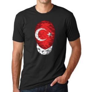 Turkey-tshirt-black