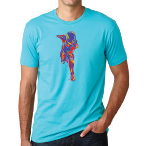 Sketchy-Fencer-tahiti-blue-tshirt